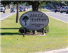 Welcome to Mary Esther sign