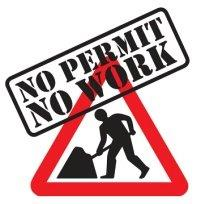 No permit no work