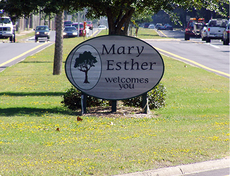 Mary Esther Welcomes You